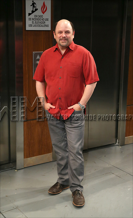 Jason Alexander  attends the 'Fish in the Dark' cast change photo call at  the Cort Theatre on May 28, 2015 in New York City.