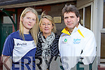 Noreen McCarthy who is running the Kerry's Eye Tralee International marathon to raise funds for the Kerry Rape and Sexual Abuse centre pictured with Vera O'Leary and Marcus Howlett Race Director.