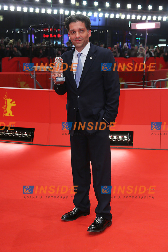 Danis Tanovic. Berlin 16/02/2013. 63th Berlinale Award Winners red Carpet. foto Mark Cape/Insidefoto