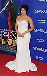 HOLLYWOOD, CA - AUGUST 16: Jordin Sparks arrives for the Los Angeles premiere of 'Sparkle' at Grauman's Chinese Theatre on August 16, 2012 in Hollywood, California.