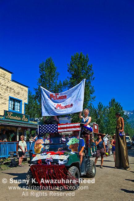 Fourth of July Parade, McCarthy, Wrangell - St. Elias Park, Alaska