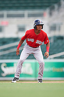 Boston Red Sox Kervin Suarez (16) during an Instructional League game against the Minnesota Twins on September 23, 2016 at JetBlue Park at Fenway South in Fort Myers, Florida.  (Mike Janes/Four Seam Images)