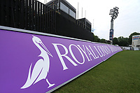 General view of the Royal London signage ahead of Kent Spitfires vs Essex Eagles, Royal London One-Day Cup Cricket at the St Lawrence Ground on 17th May 2017