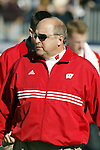 Nashville, Tennessee - 12/31/03. University of Wisconsin head coach Barry Alvarez during the game vs. Auburn University at the Gaylord Hotels Music City Bowl. Auburn beat Wisconsin 28-14 at The Coliseum. (Photo by David Stluka)