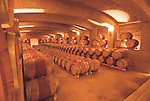 Chile Wine Country:  Barrels in cellar at Undurraga Winery, Vina Undurraga, near Santiago..Photo #: ch439-33917..Photo copyright Lee Foster, 510-549-2202, www.fostertravel.com, lee@fostertravel.com.