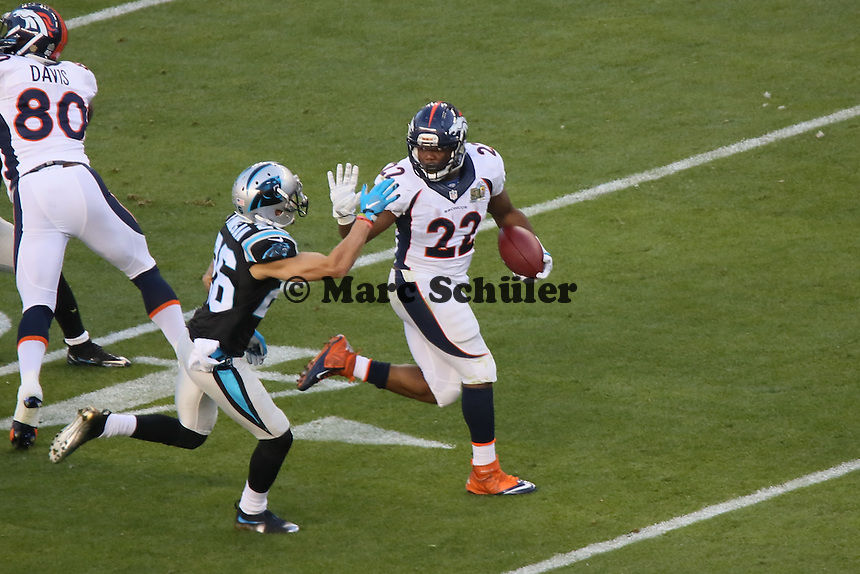 RB C.J. Anderson (Broncos) setzt sich durch - Super Bowl 50: Carolina Panthers vs. Denver Broncos