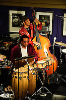 Lamar Harris Big Band in concert at Jazz at the Bistro in Saint Louis, MO on Jan 17, 2009.