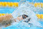 Katsuhiro Matsumoto (JPN), <br /> AUGUST 19, 2018 - Swimming : <br /> Men's 200m Freestyle Heat <br /> at Gelora Bung Karno Aquatic Center <br /> during the 2018 Jakarta Palembang Asian Games <br /> in Jakarta, Indonesia. <br /> (Photo by Naoki Nishimura/AFLO SPORT)