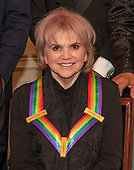 Singer Linda Ronstadt, one of the recipients of the 42nd Annual Kennedy Center Honors poses as part of a group photo following a dinner at the United States Department of State in Washington, D.C. on Saturday, December 7, 2019.  The 2019 honorees are: Earth, Wind & Fire, Sally Field, Linda Ronstadt, Sesame Street, and Michael Tilson Thomas.<br /> Credit: Ron Sachs / Pool via CNP