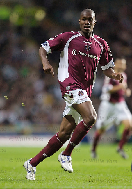 Jose Goncalves, Hearts.stock season 2006-2007.pic willie vass