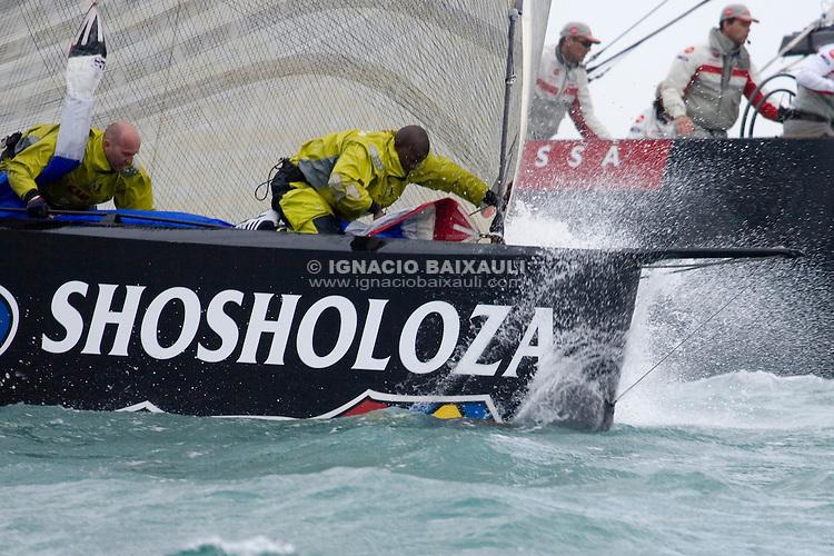 Team Shosholoza  -  - VALENCIA LOUIS VUITTON ACT13 - DAY 2 - FLEET RACE 2 and 3 - 2007 abr 04