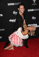 "Los Angeles, CA - NOVEMBER 22: Sasha Farber, Terra Jolé, At ABC's ""Dancing With The Stars"" Season 23 Finale At The Grove, California on November 22, 2016. Credit: Faye Sadou/MediaPunch"