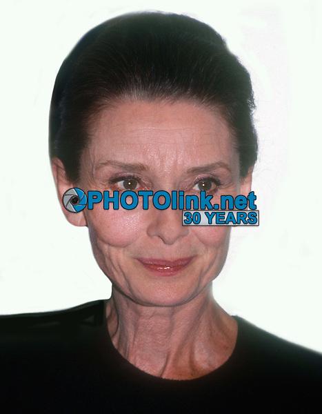 Audrey Hepburn 1991<br /> Photo By John Barrett/PHOTOlink
