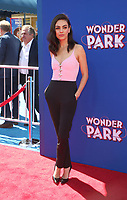 LOS ANGELES, CA - MARCH 10: Mila Kunis, at the premiere of Paramount Animation and Nickelodeon's Wonder Park at the Regency Village Theatre in Westwood, California on March 10, 2019. <br /> CAP/MPIFS<br /> &copy;MPIFS/Capital Pictures