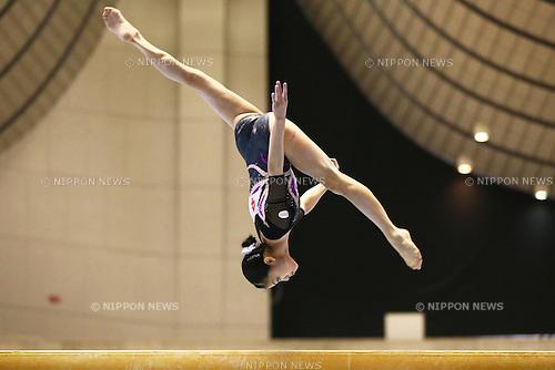Yuko Shintake (JPN), .May 4, 2012 - Artistic gymnastics : .The 51st NHK Cup, Women's Individual All-Around 1st Day .at Yoyogi 1st Gymnasium, Tokyo, Japan. .(Photo by Daiju Kitamura/AFLO SPORT) [1045]