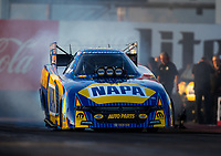 Feb 3, 2017; Chandler, AZ, USA; NHRA funny car driver Ron Capps during Nitro Spring Training preseason testing at Wild Horse Pass Motorsports Park. Mandatory Credit: Mark J. Rebilas-USA TODAY Sports