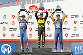 2018 Verizon IndyCar Series - Firestone Grand Prix of St. Petersburg<br /> St. Petersburg, FL USA<br /> Sunday 11 March 2018<br /> Sébastien Bourdais, Dale Coyne Racing with Vasser-Sullivan Honda, Graham Rahal, Rahal Letterman Lanigan Racing Honda, Alexander Rossi, Andretti Autosport Honda<br /> World Copyright: Michael L. Levitt<br /> LAT Images<br /> ref: Digital Image _33I8528