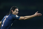 PSG's Edinson Cavani in action during the Champions League group A match at the Emirates Stadium, London. Picture date November 23rd, 2016 Pic David Klein/Sportimage