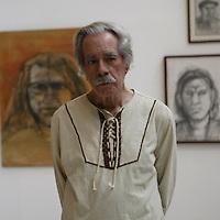 Juan Calzadilla, poeta y pintor venezolano. FE