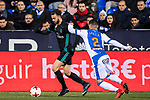 during the Copa del Rey 2017-18 match between CD Leganes and Real Madrid at Estadio Municipal Butarque on 18 January 2018 in Leganes, Spain. Photo by Diego Gonzalez / Power Sport Images