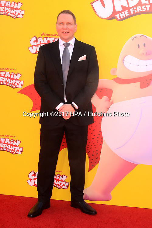 "LOS ANGELES - MAY 21:  Dav Pilkey at the ""Captain Underpants"" Los Angeles Premiere at the Village Theater on May 21, 2017 in Westwood, CA"