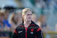 International athletics at Cardiff International stadium, Cardiff, South Wales - Tuesday 15th July 2014<br /> <br /> Welsh pole vault record holder Sally Peake. <br /> <br /> <br /> Photo by Jeff Thomas Photography