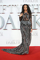 "Corrine Bailey Rae<br /> at the ""Fifty Shades Darker"" premiere, Odeon Leicester Square, London.<br /> <br /> <br /> ©Ash Knotek  D3223  09/02/2017"