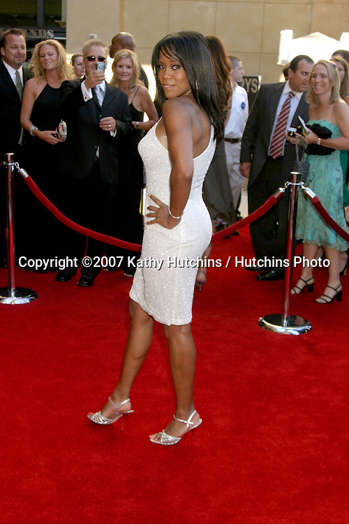 Regina King.ESPY Awards 2007.Kodak Theater.Los Angeles, CA.July 11, 2007.©2007 Kathy Hutchins / Hutchins Photo....