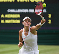 ANGELIQUE KERBER (GER)<br /> <br /> The Championships Wimbledon 2014 - The All England Lawn Tennis Club -  London - UK -  ATP - ITF - WTA-2014  - Grand Slam - Great Britain -  26th June 2014. <br /> <br /> © Tennis Photo Network