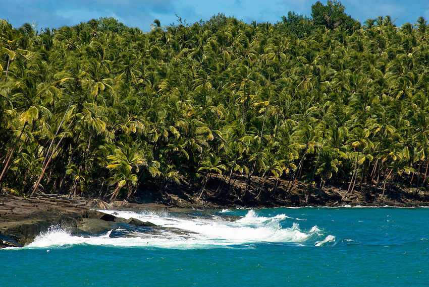 Devil's Island, off the coast of French Guiana in the Atlantic Ocean.