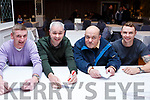 Taking part in the Pieta House Quiz night in the Rose Hotel on Thursday night last, l-r, James McCarthy, Donal Barry, Kerry O'Shea and Emmett O'Grady.