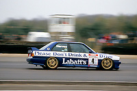Round 1 of the 1991 British Touring Car Championship. #4 Tim Harvey (GBR). BMW Team Labatt's. BMW M3.