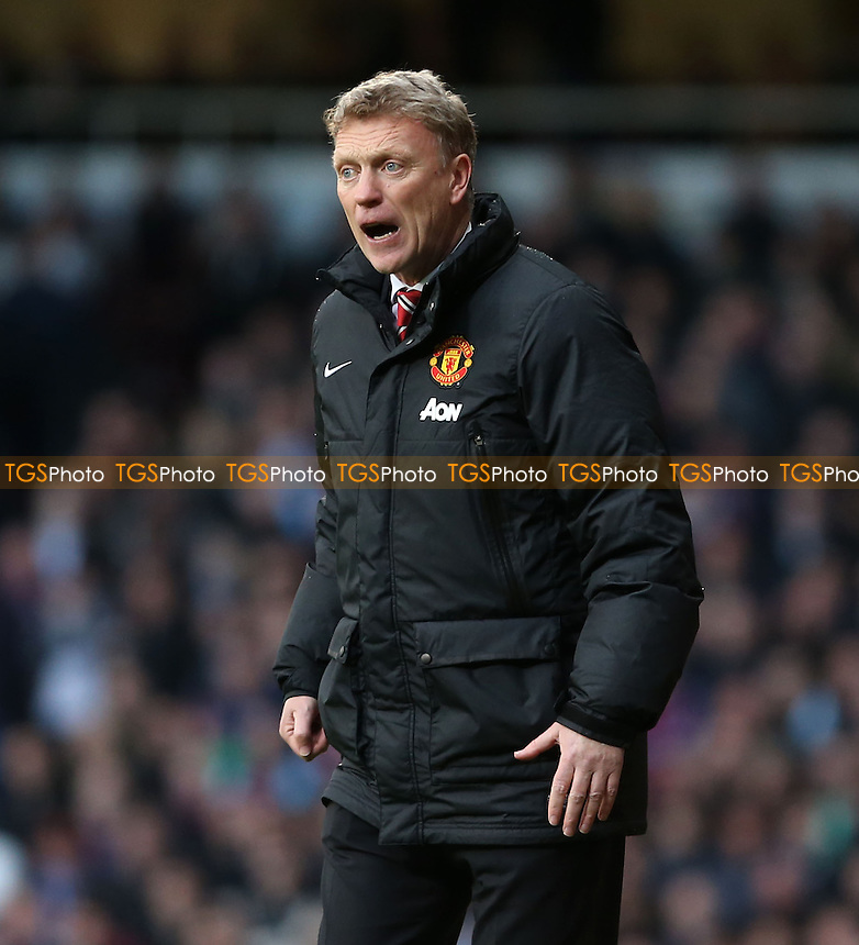 Manchester Utd manager David Moyes - West Ham United vs Manchester United, Barclays Premier League at Upton Park, West Ham, London - 22/03/14 - MANDATORY CREDIT: Rob Newell/TGSPHOTO - Self billing applies where appropriate - 0845 094 6026 - contact@tgsphoto.co.uk - NO UNPAID USE