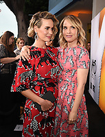 "BEVERLY HILLS, CA - APRIL 6: (L-R) Sarah Paulson and Leslie Grossman attend the For Your Consideration Red Carpet event for FX's ""American Horror Story: Cult"" at the WGA Theater on April 6, 2018 in Beverly Hills, California. (Photo by Frank Micelotta/Fox/PictureGroup)"