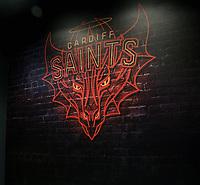 The Cardiff Saints tribe logo