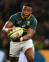Aphiwe Dyantyi of South Africa during the 2018 Castle Lager Incoming Series 2nd Test match between South Africa and England at the Toyota Stadium.Bloemfontein,South Africa. 16,06,2018 Photo by Steve Haag / stevehaagsports.com