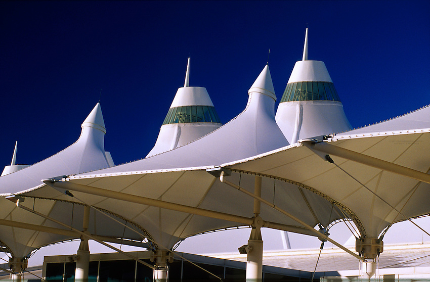 Terminal, Denver International Airport, Denver, Colorado