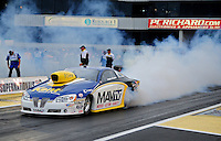 Jun. 1, 2012; Englishtown, NJ, USA: NHRA pro stock driver Rodger Brogdon during qualifying for the Supernationals at Raceway Park. Mandatory Credit: Mark J. Rebilas-