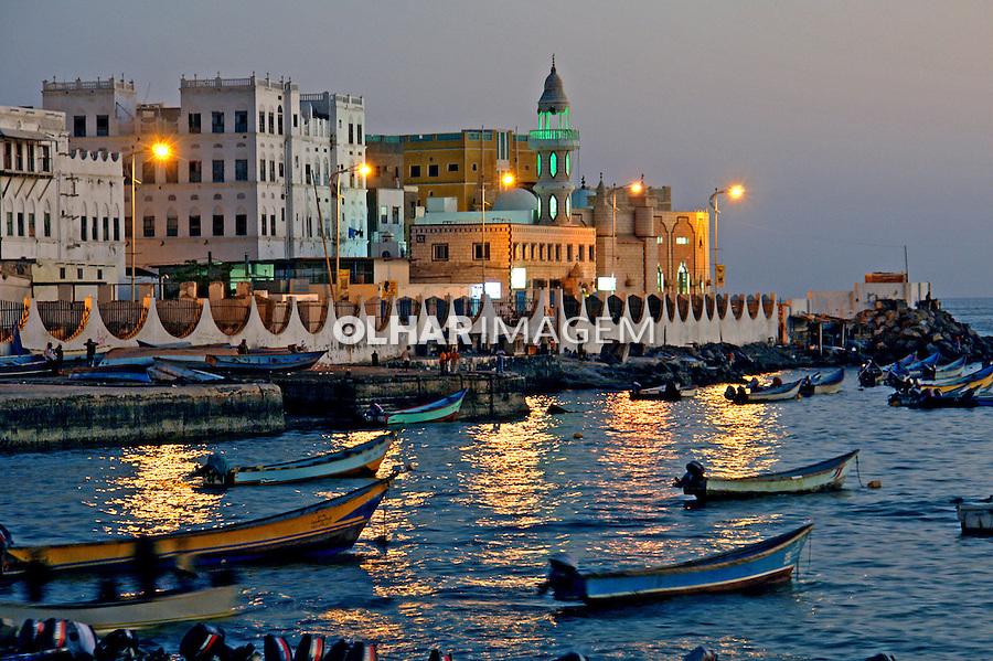 Cidade Al Mukalla. Yemen. 2008. Foto de Caio Vilela.