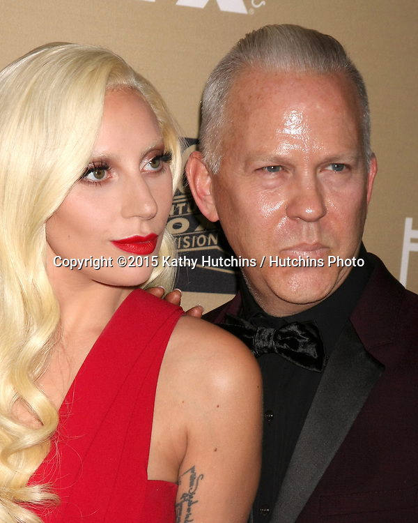 "LOS ANGELES - OCT 3:  Lady Gaga, Ryan Murphy at the ""American Horror Story: Hotel"" Premiere Screening at the Regal 14 Theaters on October 3, 2015 in Los Angeles, CA"