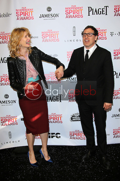 Laura Dern, David O. Russell<br /> at the 2013 Film Independent Spirit Awards, Private Location, Santa Monica, CA 02-23-13<br /> David Edwards/DailyCeleb.com 818-249-4998