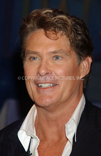 WWW.ACEPIXS.COM . . . . . ....November 2, 2006, New York City. ....David Hasselhoff and Mel Brooks attend Press Conference to announce the Musical Comedy 'The Producers' to be in Las Vegas.....Please byline: KRISTIN CALLAHAN - ACEPIXS.COM.. . . . . . ..Ace Pictures, Inc:  ..(212) 243-8787 or (646) 769 0430..e-mail: info@acepixs.com..web: http://www.acepixs.com