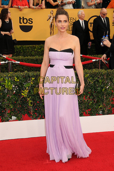 25 January 2015 - Los Angeles, California - Amanda Peete. 21st Annual Screen Actors Guild Awards - Arrivals held at The Shrine Auditorium. <br /> CAP/ADM/BP<br /> &copy;BP/ADM/Capital Pictures