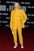 """LOS ANGELES - NOV 4:  Carrie Coon at the """"Ford v Ferrari"""" Premiere at TCL Chinese Theater IMAX on November 4, 2019 in Los Angeles, CA"""