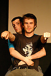 Whitest Kids U Know at Sketchfest NYC, 2005. Sketch Comedy Festival at the Upright Citizen's Brigade Theatre, New York City.