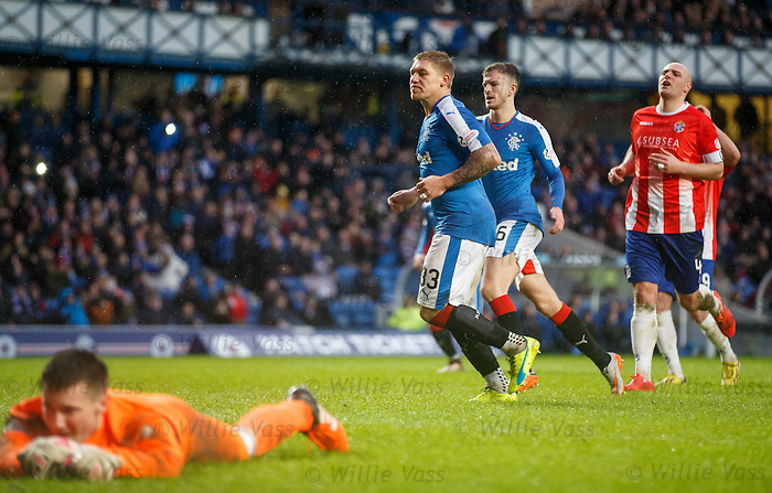 Martyn Waghorn after scoring his second goal