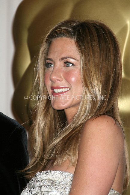 WWW.ACEPIXS.COM . . . . .  ....February 22, 2009. Hollywood, CA....Jennifer Aniston poses at the 81st Annual Academy Awards press room held at the Kodak Theater on February 22, 2009 in Hollywood, CA.......Please byline: Z09- ACEPIXS.COM.... *** ***..Ace Pictures, Inc:  ..Philip Vaughan (646) 769 0430..e-mail: info@acepixs.com..web: http://www.acepixs.com