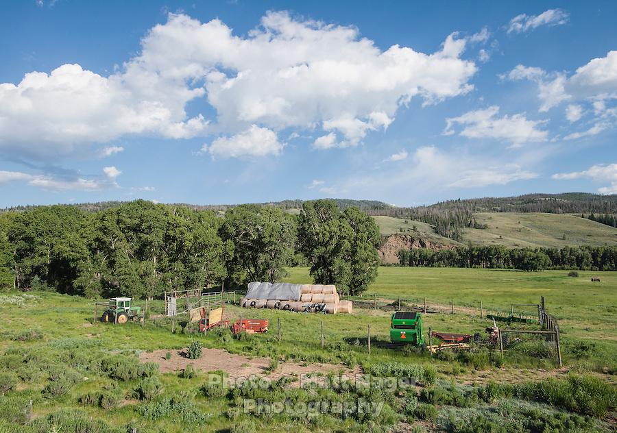 A ranch along the Colorado River near Grandby, Colorado, Monday, June 30, 2015. <br /> <br /> Photo by Matt Nager