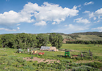 A ranch along the Colorado River near Grandby, Colorado, Monday, June 30, 2015. <br /> <br /> Photo by Matt Nager