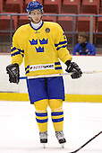 Johan Harju (Lulea HF) The US Blue team lost to Sweden 3-2 in a shootout as part of the 2005 Summer Hockey Challenge at the National Junior (U-20) Evaluation Camp in the 1980 rink at Lake Placid, NY on Saturday, August 13, 2005.